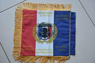 Mini drapeau Honneur et patrie